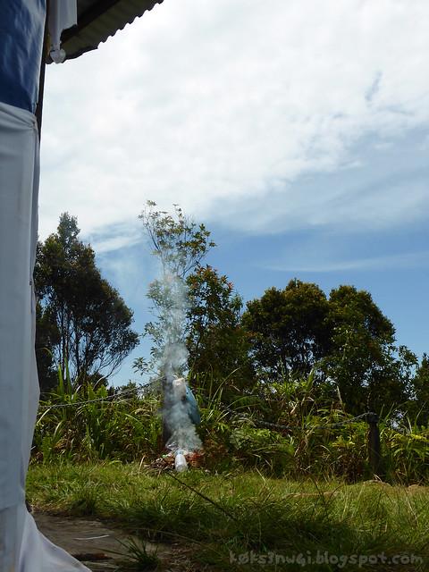 Santubong 08 Dangerous Untended Fire