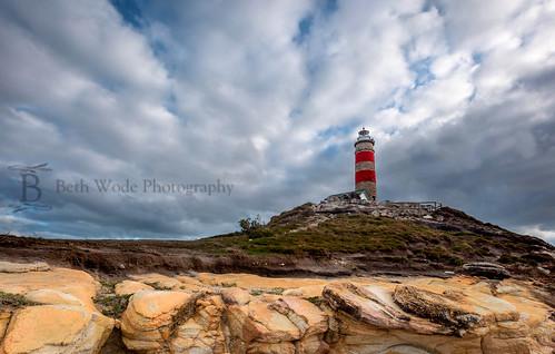 sky lighthouse clouds canon landscape rocks beth queensland moretonisland wode capemoreton 5dmarkiii bethwode moretonislandlighthouse