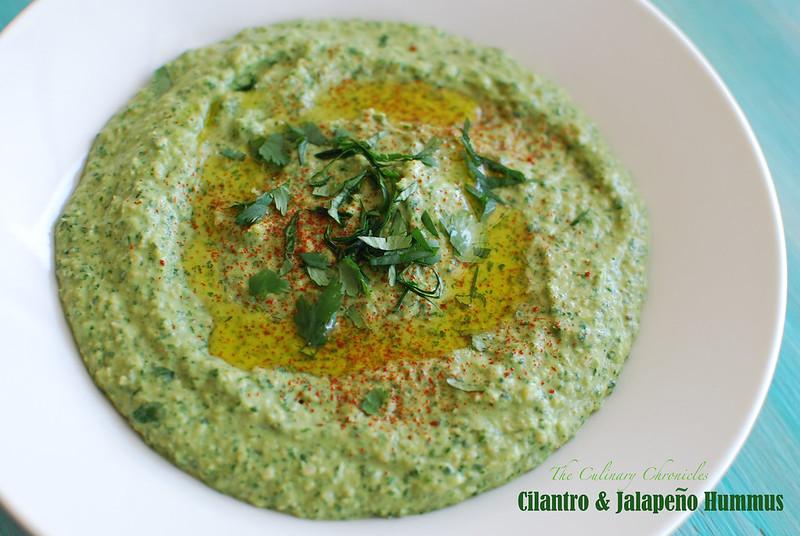 Cilantro & Jalapeño Hummus
