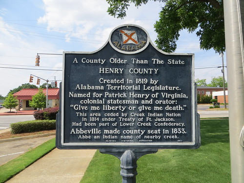 The County Older than the State Marker Abbeville AL