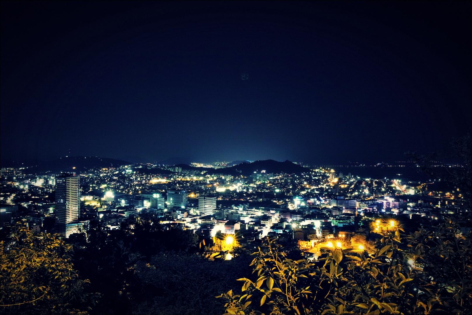유달산에서 바라본 야경-'목포 구경 Sightseeing Mokpo'