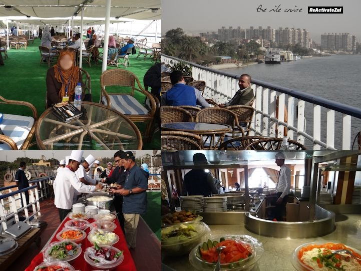 Mesir - Bfast & Lunch @Nile Cruise