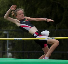 sprint(0.0), floor gymnastics(0.0), 110 metres hurdles(0.0), 100 metres hurdles(0.0), pole vault(0.0), hurdle(0.0), uneven bars(0.0), physical exercise(0.0), hurdling(0.0), athletics(1.0), track and field athletics(1.0), sports(1.0), high jump(1.0), gymnast(1.0), heptathlon(1.0), person(1.0), athlete(1.0),