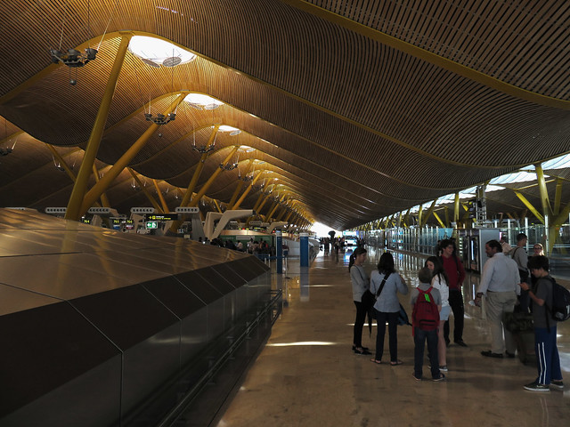 aeropuerto Barajas, Madrid (2015)