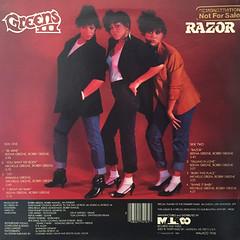 GREENS III:RAZOR(JACKET B)