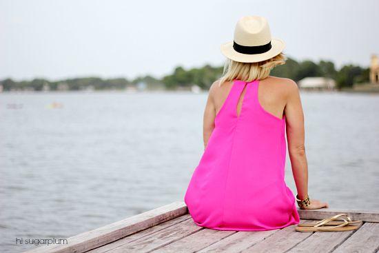 Hi Sugarplum   Pink Dress   Day to Night