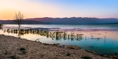 Low light over Lake Dojran