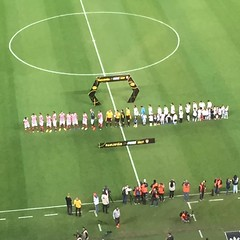 Hino Nacional antes da partida Corinthians x Linense #RadioCoringao
