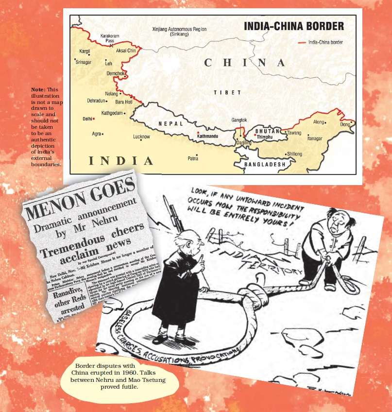 NCERT Class XII Political Science II Chapter 4 - India's External Relations