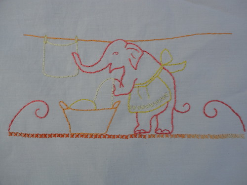 Elephant Laundry - Pattern from DoeCDoe