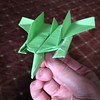 I am offering to teach this paper #airplane at the OUSA #origami convention this year. A great flier! My design.