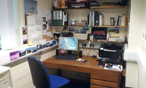 Big boy's desk!
