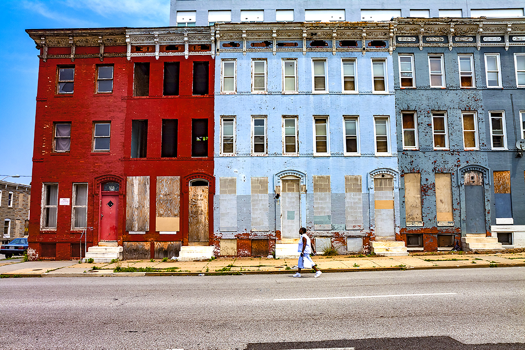 Abandoned-row-houses--Baltimore