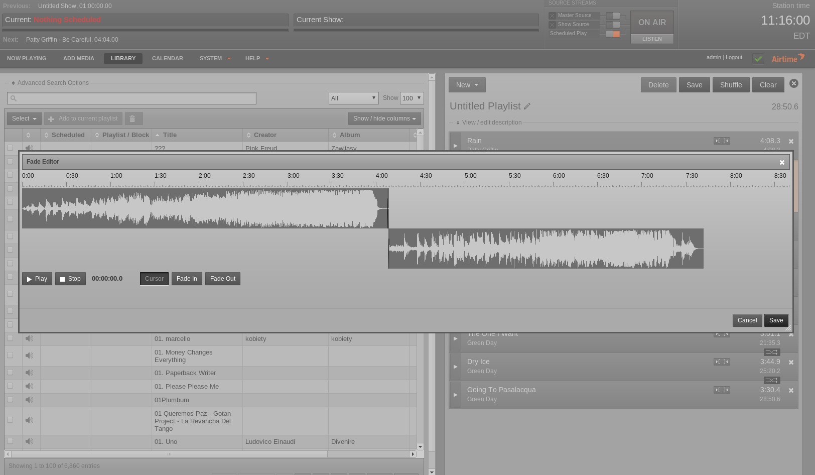 Waveform editor II