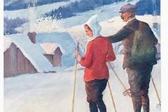 Lyžařské pohlednice