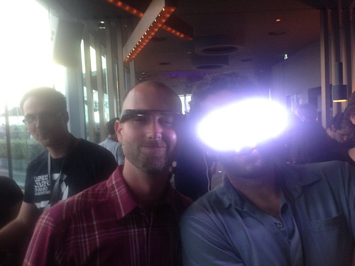 Google glass meets kickstarter #brighteyes #gotoams