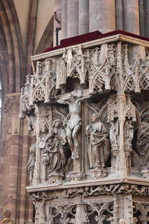 Detail at Strasbourg Cathedral