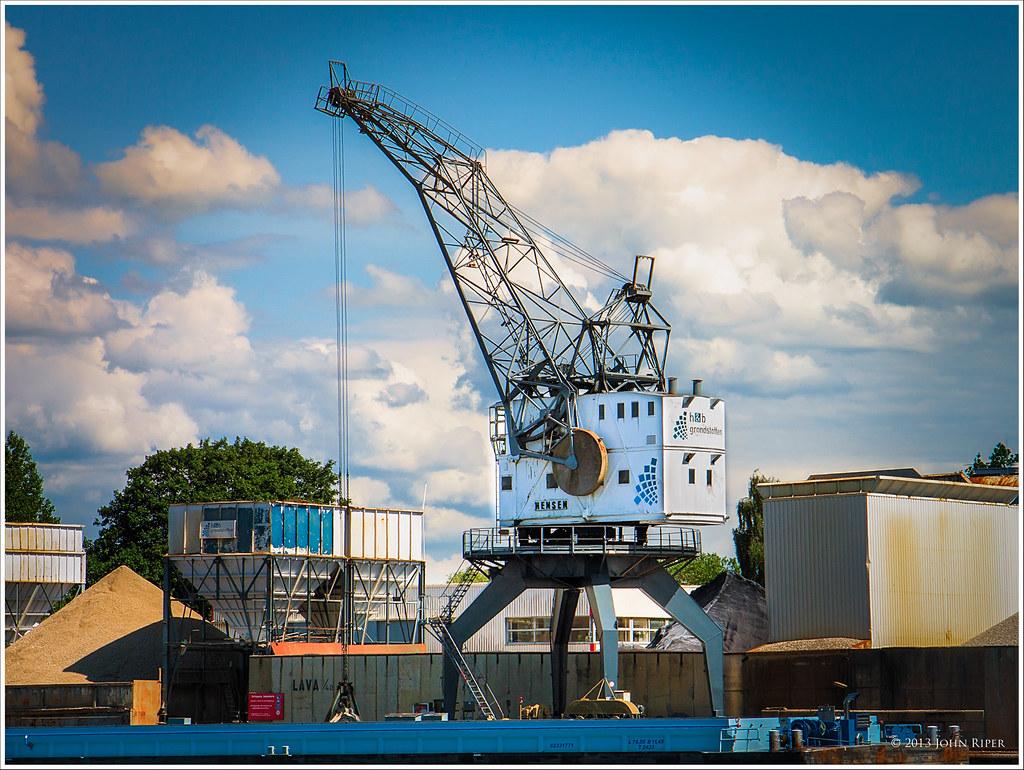 Hensen crane, Krimpen aan den IJssel, Holland