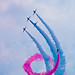 Corkscrew- Red Arrows Waddington by DB Sigma Photography