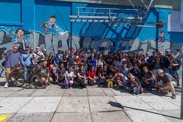 #sfflickrmeetup: Mission murals walk, 2013