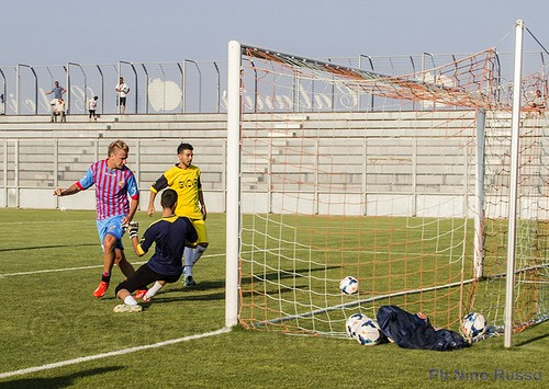 Maxi Lopez in gol di tacco