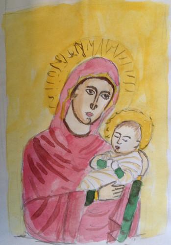 Theotokos sketch