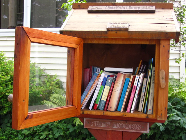 Books to share, Free Little Library, Madison