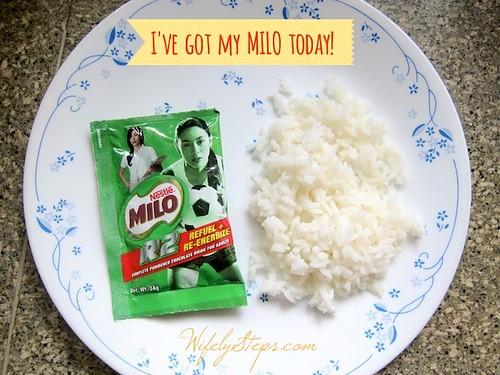 Milo Rice Breakfast