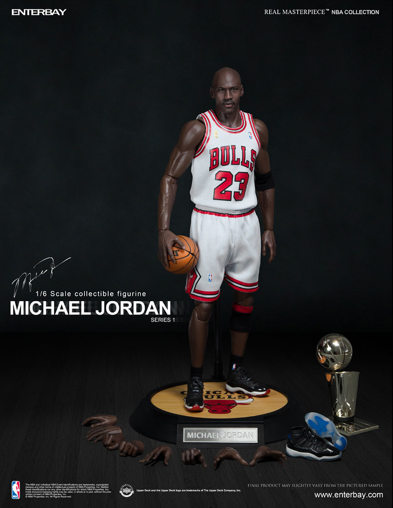 Available @ STGCC 2013: Michael Jordan in 1/6 from ENTERBAY