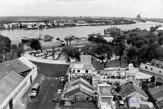 Mê Linh Square - Sài Gòn 1963 - Photo by Ken Hoggard