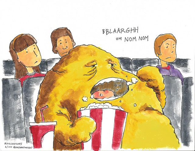 Fatberg goes to the movies
