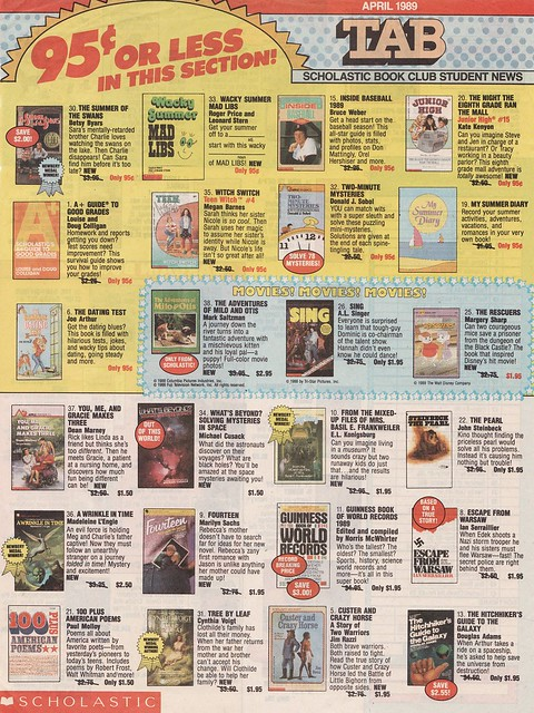 Scholastic Reading Club Canada Online offers teachers and parents the best books at the best prices for all reading levels and interests, including French resources from Club de lecture. Scholastic. book flyers with many more books available online. 2.
