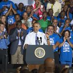 Barack Obama: Obama stresses importance of ports during visit to Jacksonville