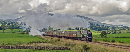 The Cumbrian Mountain Express being hauled by Union of South Africa by Andy Pritchard - Barrowford