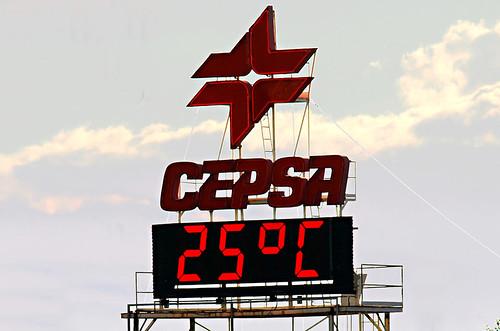 Street temperature