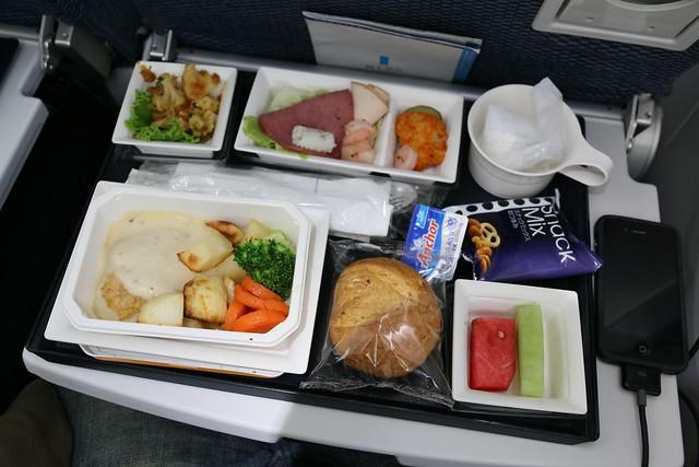 松山 > 羽田 ANA 2013/9飛機餐