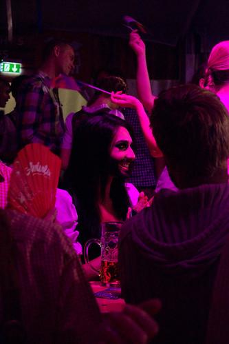 Conchita Wurst con público