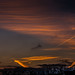 Sunrise Contrails by ransomtech