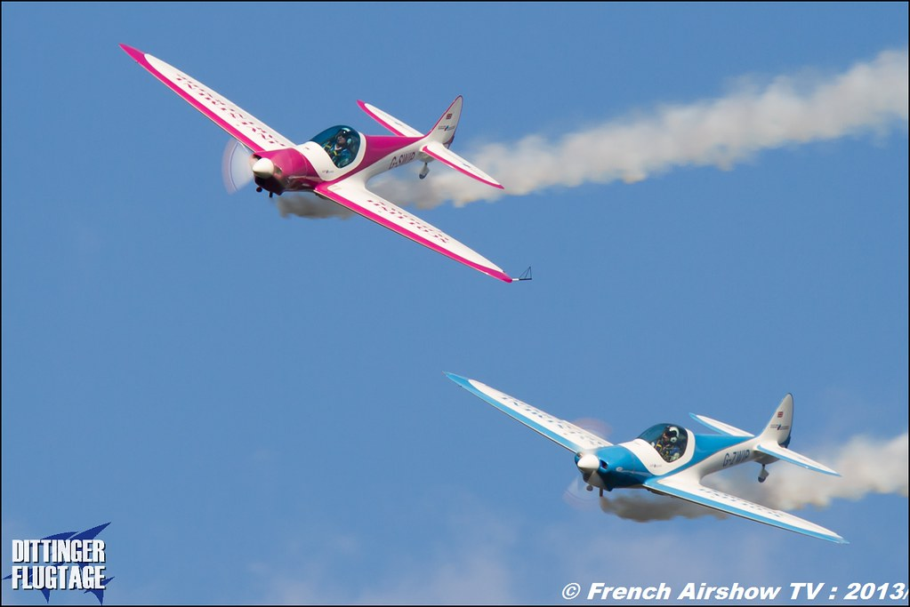 Patrouille Swip Team at Dittinger Flugtage 2013