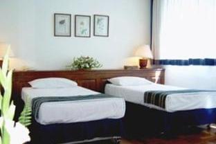 Thamada Hotel twin room