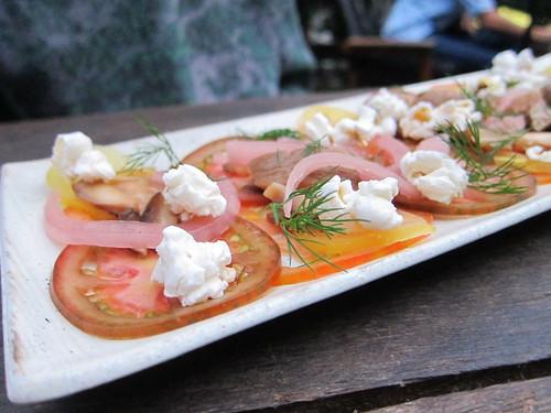 Fika - tomato salad