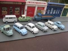 1:43 Japanese 1960s Microcars & Trucks - Subaru 360 & Sambar, Daihatsu Midget, Mitsubishi Minica, Mazda 360 Carol, R 360 Coupe, K 360 & T-2000