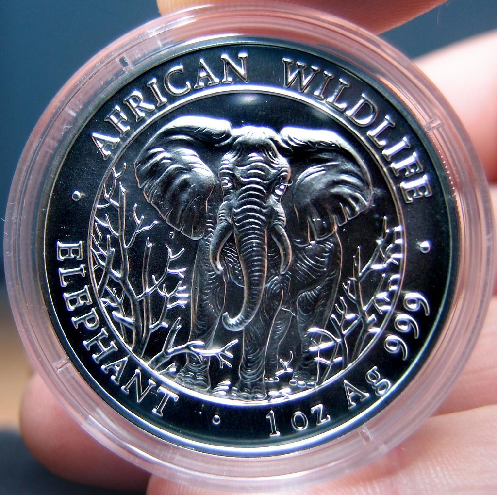 """Colección de onzas de plata """"Somalian African Wildlife""""  10276068656_ed94de44ac_b"""