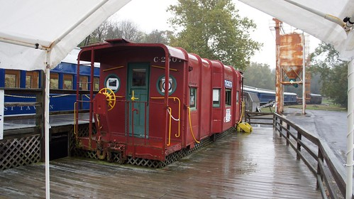 The Red Caboose at Wappocomo Station