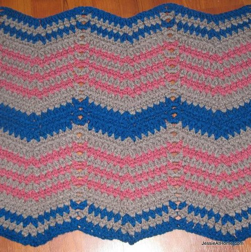 Faded-Ripple-Free-Crochet-Pattern-Worsted-Weight