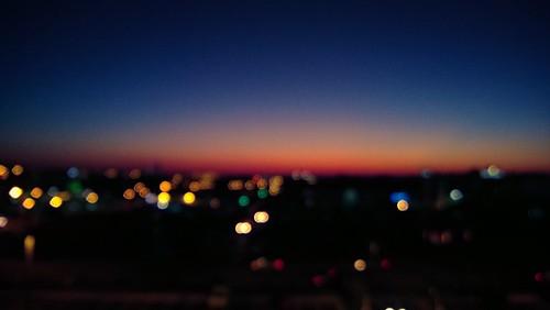 light color sunrise nokia bokeh 990 lumia