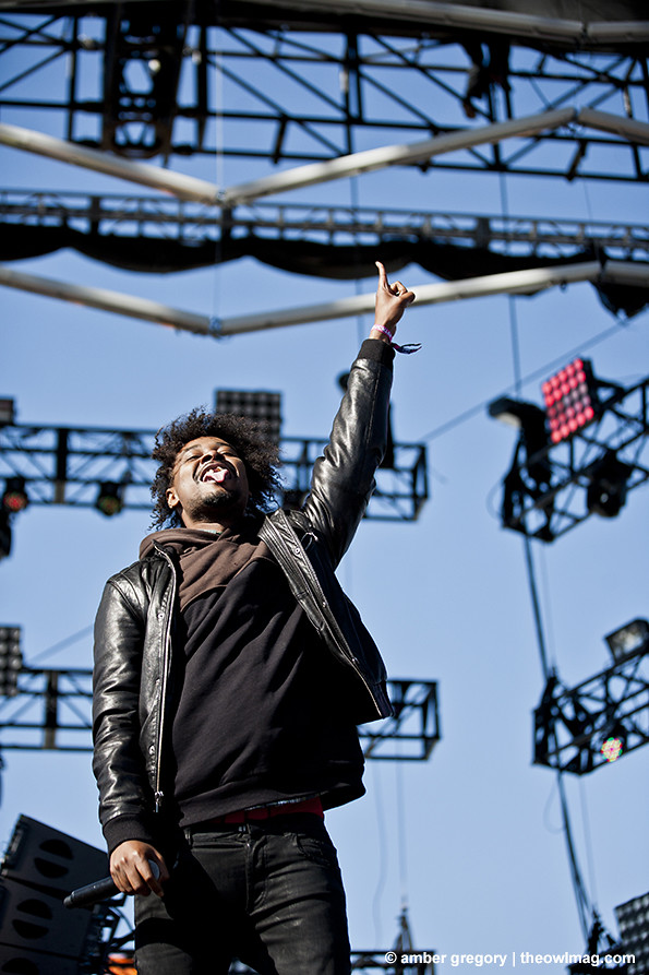 Danny Brown @ Treasure Island Music Festival, SF 10/19/13