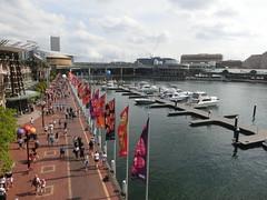 Aussicht über Darling Harbour - Sydney
