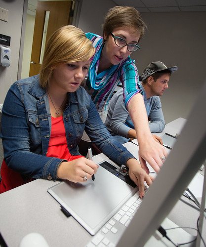 Students expand digital skills