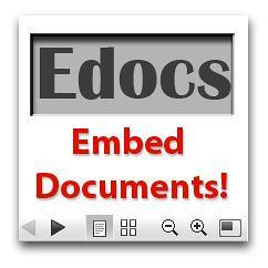 Edocs - Embed Documents